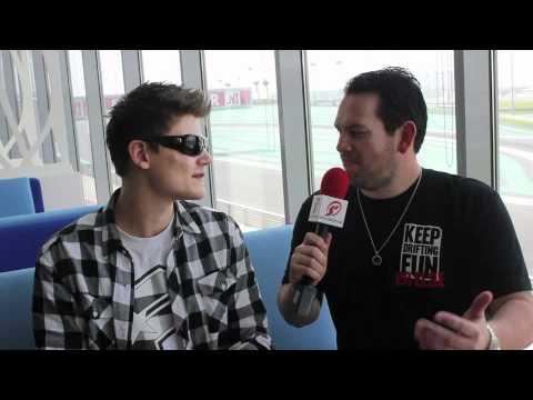 Yas Marina Formula Drift Interviews Fredric Aasbo