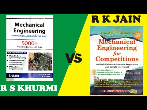 R S Khurmi VS R K Jain// Which book is best~ Best Objective book for  Mechanical Engineers