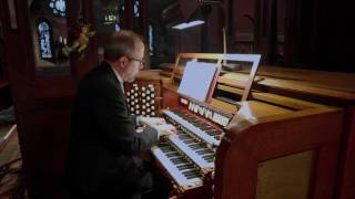 Organist Mark Dwyer plays Hymn Tune Kingsfold on pipe organ at Church of the Advent