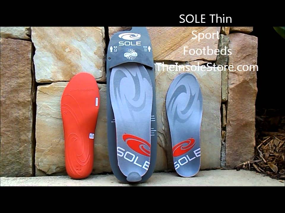 All Colors SOLE Softec Response Thin Sport Heat Moldable Custom Insoles All