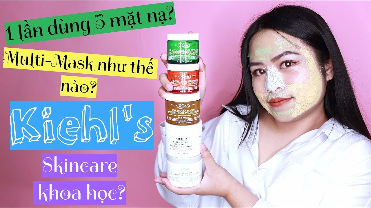 BIYW Review Chapter: #29 KIEHL'S MULTI MASK & REVIEW