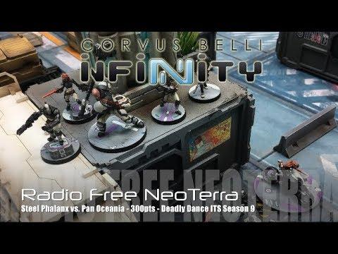 Radio Free NeoTerra Ep 69 - Steel Phalanx Army Box vs. Pan Oceania - 'Deadly Dance'