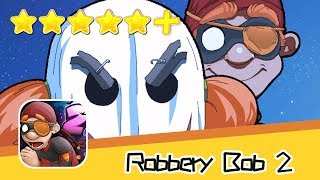 Robbery Bob 2 Hauntington Level 3-5 Green Screen Bob Walkthrough New Game Plus Recommend index five