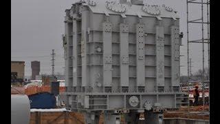 ТАКЕЛАЖНЫЕ РАБОТЫ - Такелаж трансформатора 83,3 тонны(, 2013-04-27T07:56:17.000Z)