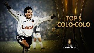 Los MEJORES goles de COLO-COLO en la HISTORIA de la LIBERTADORES