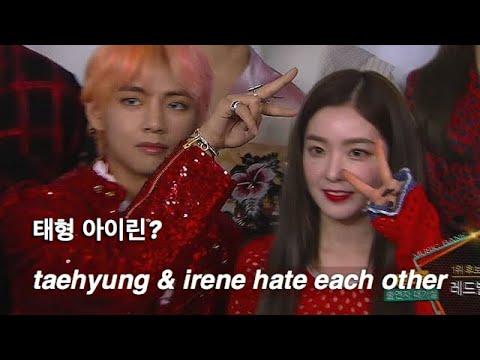 irene hates taehyung