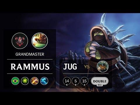 Rammus Jungle vs Olaf - BR Grandmaster Patch 10.1