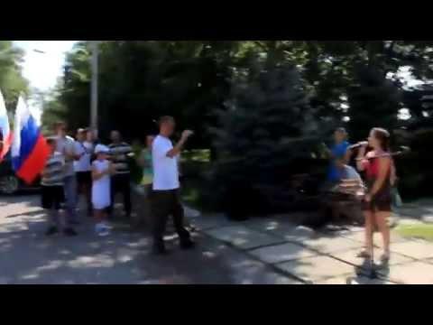 Атаман молодой Русская пробежка Славянский образ новопавловск казаки здоровый образ жизни традиции