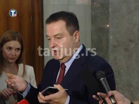 Македонски пратеник организирал демонстрации против Вучиќ во Србија