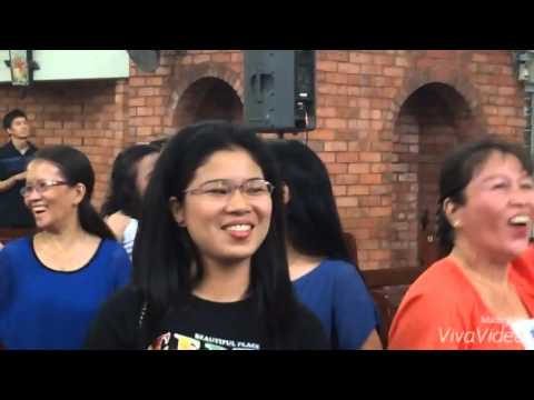 El Shaddai DWXI PPFI Singapore Chapter Gospel Choir Praise & Worship!! 192015