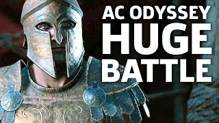 Assassin's Creed Odyssey Gameplay - New Conquest Battles | E3 2018