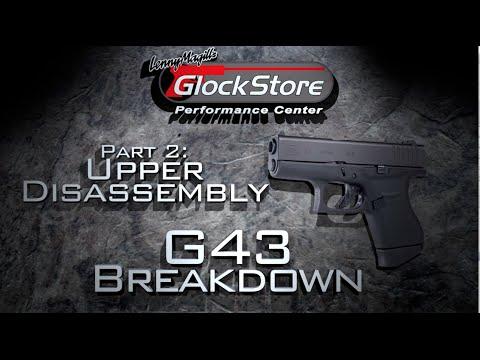 Glock 43 Breakdown Pt. 2 - Upper Disassembly