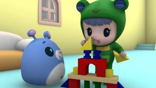 Развивающие мультики - Руби и Йо-Йо - Сборник мультфильмов для малышей - Серии с 1-й по 10-ю!