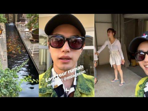 Lee Jeong Hoon & Moa Tour Rumah Orang Tuanya Super Mewah