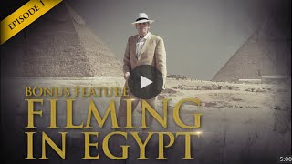 Mike Maloney Behind The Scenes - Filming In Egypt