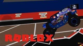 ROBLOX Monster Jam Son UVA Digger (me) VS Zombie Fire (MonsterJamFan12333)