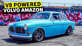 homepage tile video photo for The Volvo you never knew you needed until now! LS powered '62 Volvo Amazon.