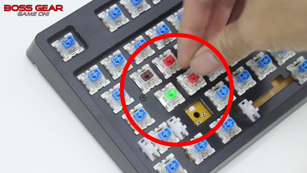 Thay Switch Nóng Cho bàn phím cơ của E-Dra!! Dễ dàng và tiện lợi