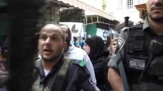 Gambar cover Muslim quarter, settler attack, other occupation forces backing her up