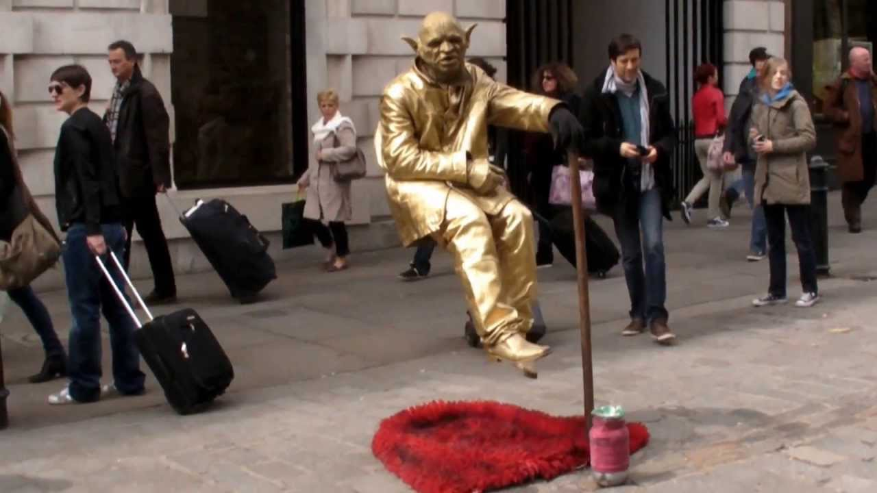 The Floating and Levitating Man Covent Garden London