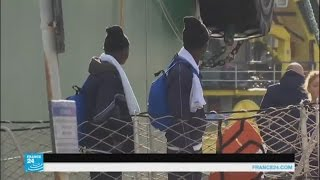 الجنايات الدولية تريد التحقيق في قضية المهاجرين في ليبيا