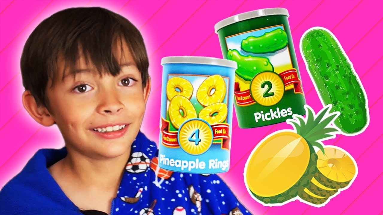 Fun with Foods! Johnny Johny Yes Papa + More Kids Food Songs! | Pocket Preschool