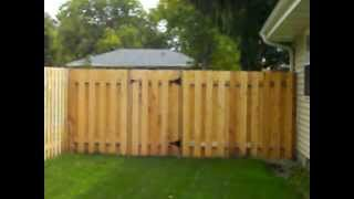 Cedar Alternate Board Privacy Fence Brooklyn Park, Mn 612-281-0558