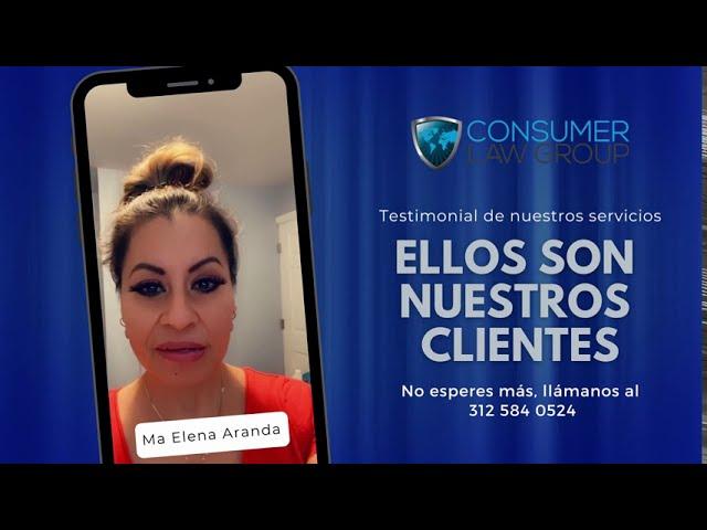 Estos son nuestros clientes: Testimonial Ma Elena Aranda