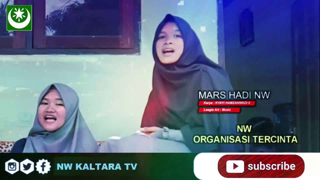 Download MARS HADI NW | Cover by Santri Ponpes Nurul Mujahidah NW Tanjung Selor