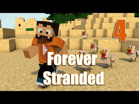 Minecraft Forever Stranded - Daha Çok Lava - Bölüm 4