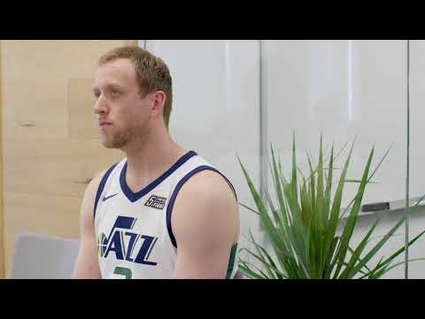 Job Shadow - Joe Ingles of the Utah Jazz on the Job