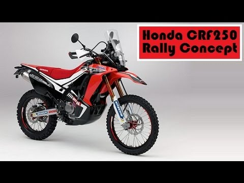 Honda Crf250 Rally Concept Set To Debut A New Off Road Model In