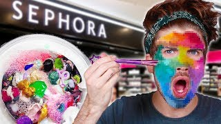 Mixing Every Face Mask From Sephora Together!