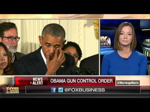 Obama Fights Back Tears Announcing Gun Control Executive Action