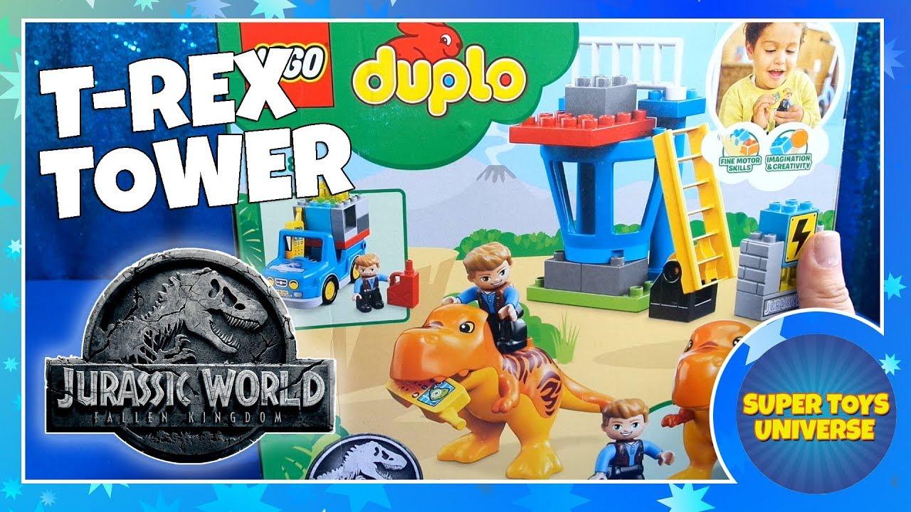 LEGO Bau- & Konstruktionsspielzeug LEGO Baukästen & Sets LEGO DUPLO 10880 Jurassic World T Rex Tower ~NEW~