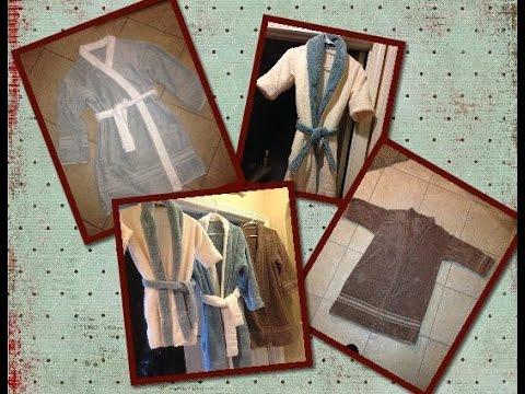 Terry Cloth Bath Robe ( Hotel Style Robe)