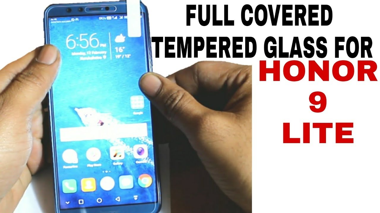Full Tempered Glass For Honor 9 Lite Youtube K Box Anti Gores Xiaomi Redmi Note 3 Clear