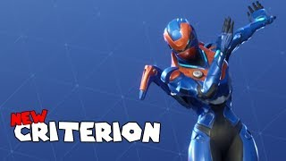 *NEW* CRITERION SKIN! - Fortnite