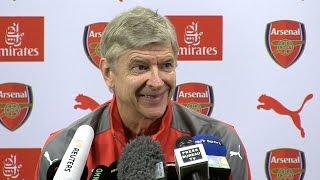 Arsene Wenger Full Pre-Match Press Conference - Manchester City v Arsenal