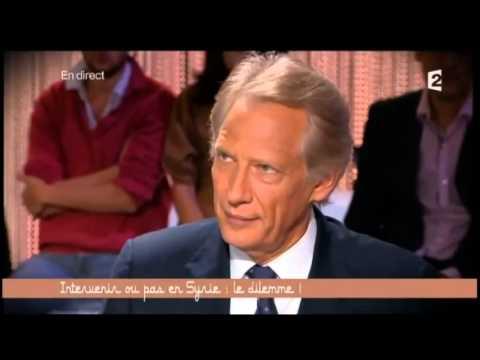 Ce Soir Ou Jamais  Syrie  Michel Collon Et Villepin Ecrasent Frédéric Encel