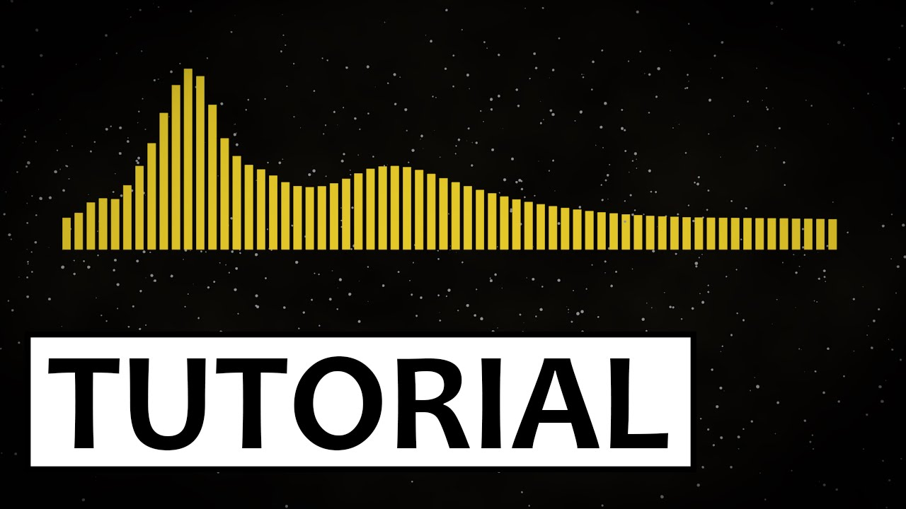 youtube - Graphic music visualizer without after effects