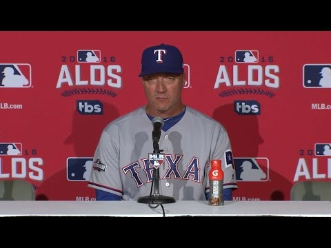 TEX@TOR Gm3: Banister on extra-inning loss in ALDS