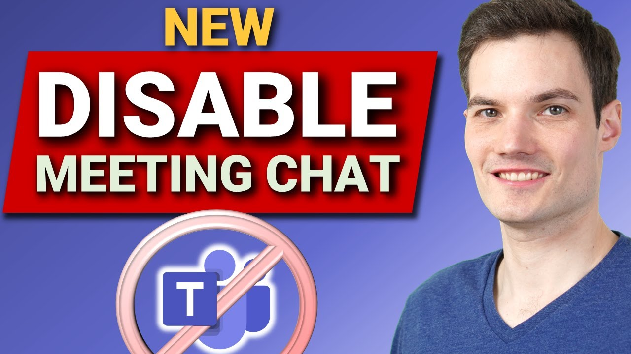 How to Disable Meeting Chat in Microsoft Teams