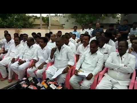 TRS MLA Mahipal Reddy Fire's On BJP Leaders | Patancheru | TRS MLA| Praja Varadhi