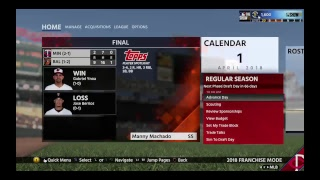 MLB the show 18 Minnesota Twins Franschise Mode  Ep. 3 @ Baltimore Orioles Game 3