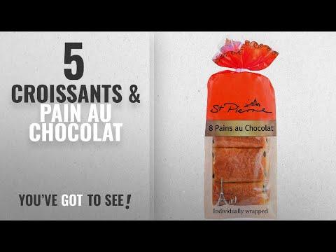 Top 10 Croissants & Pain Au Chocolat [2018]: St Pierre 8 Pains au Chocolat