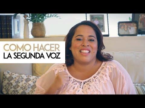 Ingrid Rosario - 23HRS Blog - Como hacer la segunda voz