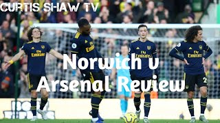 Norwich v Arsenal Review (Curtis Shaw TV)