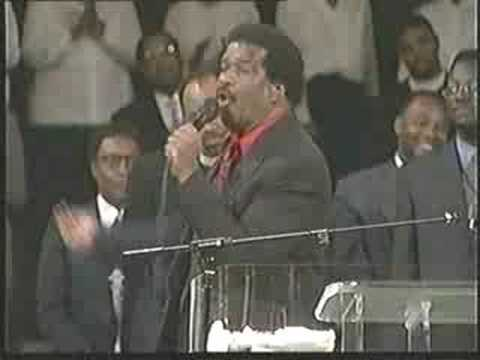 Gene Martin Singing I Can't Stop Loving God