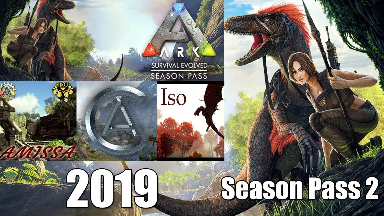 Ark Survival Evolved *NEW* Season Pass 2019